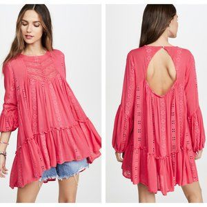 NWT Free People Kiss Kiss Tunic in Sweetest Dream